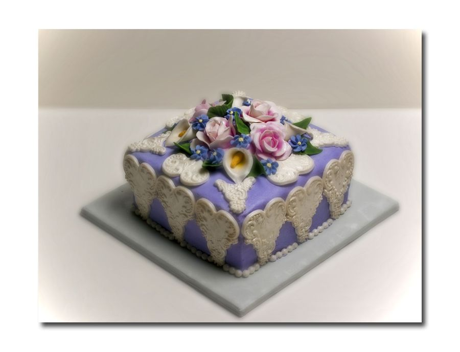 Lacy Lavender on Cake Central