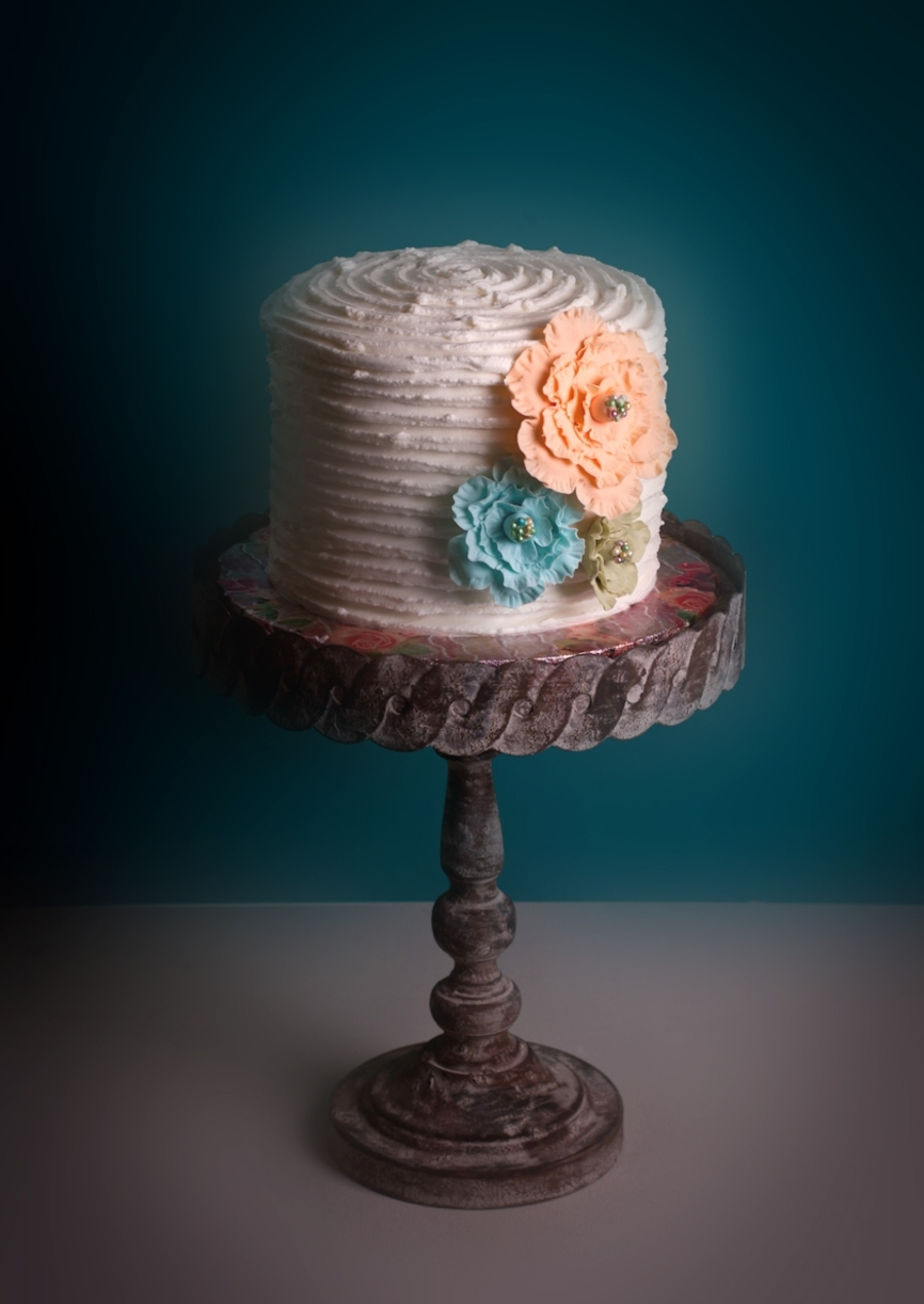 Shabby Chic on Cake Central