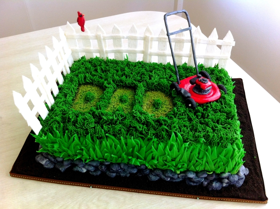 Father S Day Lawn Mower Cake Cakecentral Com