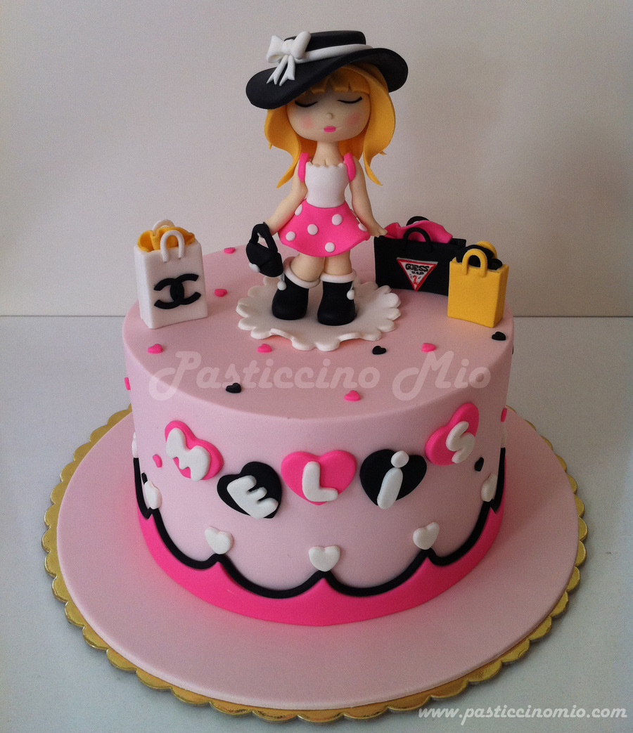 Fashion Girl Cake CakeCentralcom