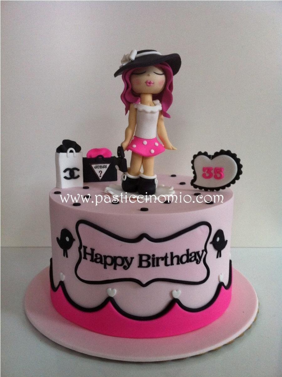 Fashion Girl Cake Cakecentral Com