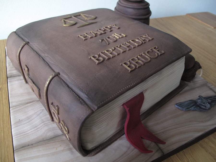 Lawyer Birthday Cake