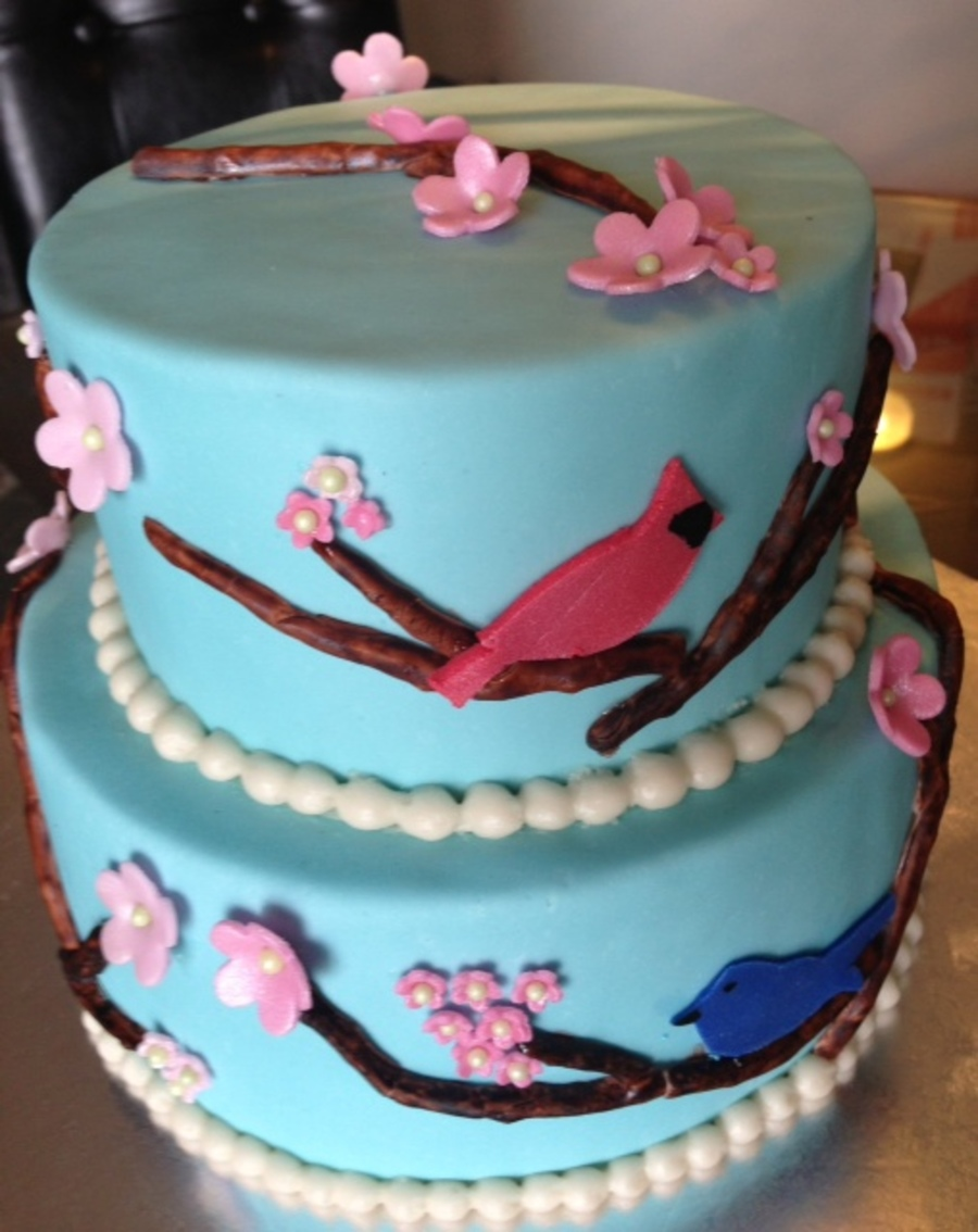 Remarkable Bird Birthday Cake Cakecentral Com Personalised Birthday Cards Cominlily Jamesorg