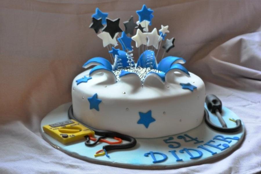 Electrician Cake CakeCentralcom