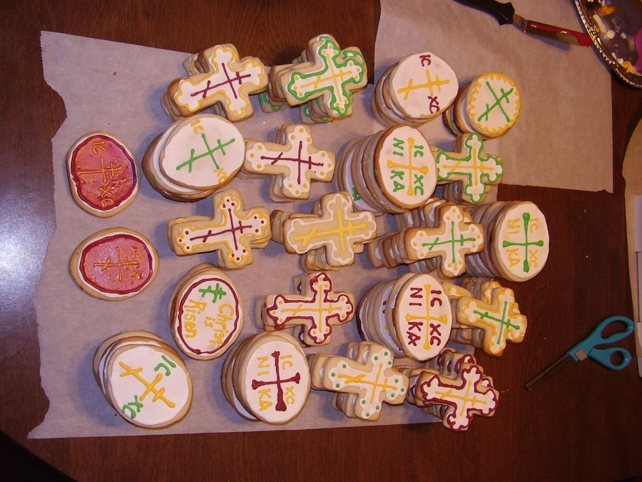 Orthodox Easter Shortbread Cookies  on Cake Central
