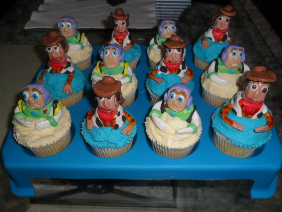 Toy Story Cup Cakes on Cake Central