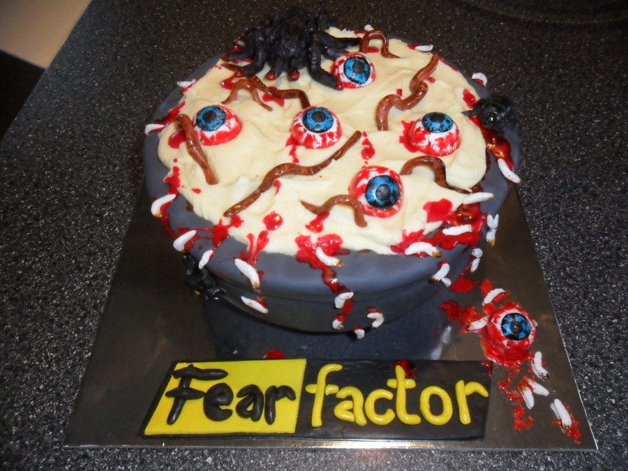 Fear Factor on Cake Central