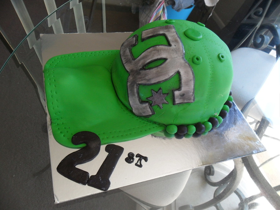 Dc Hat Cake on Cake Central