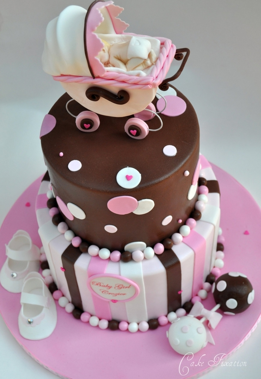 Baby Carriage Cake Cakecentral Com
