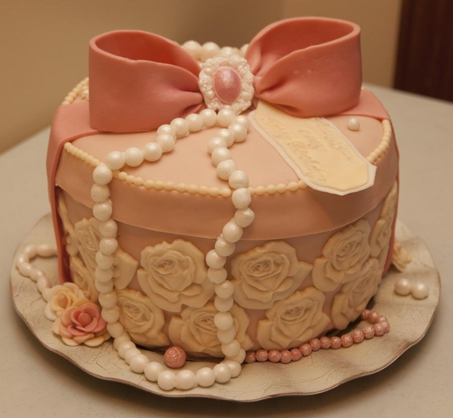 Jewelry Box Cake Cakecentral Com