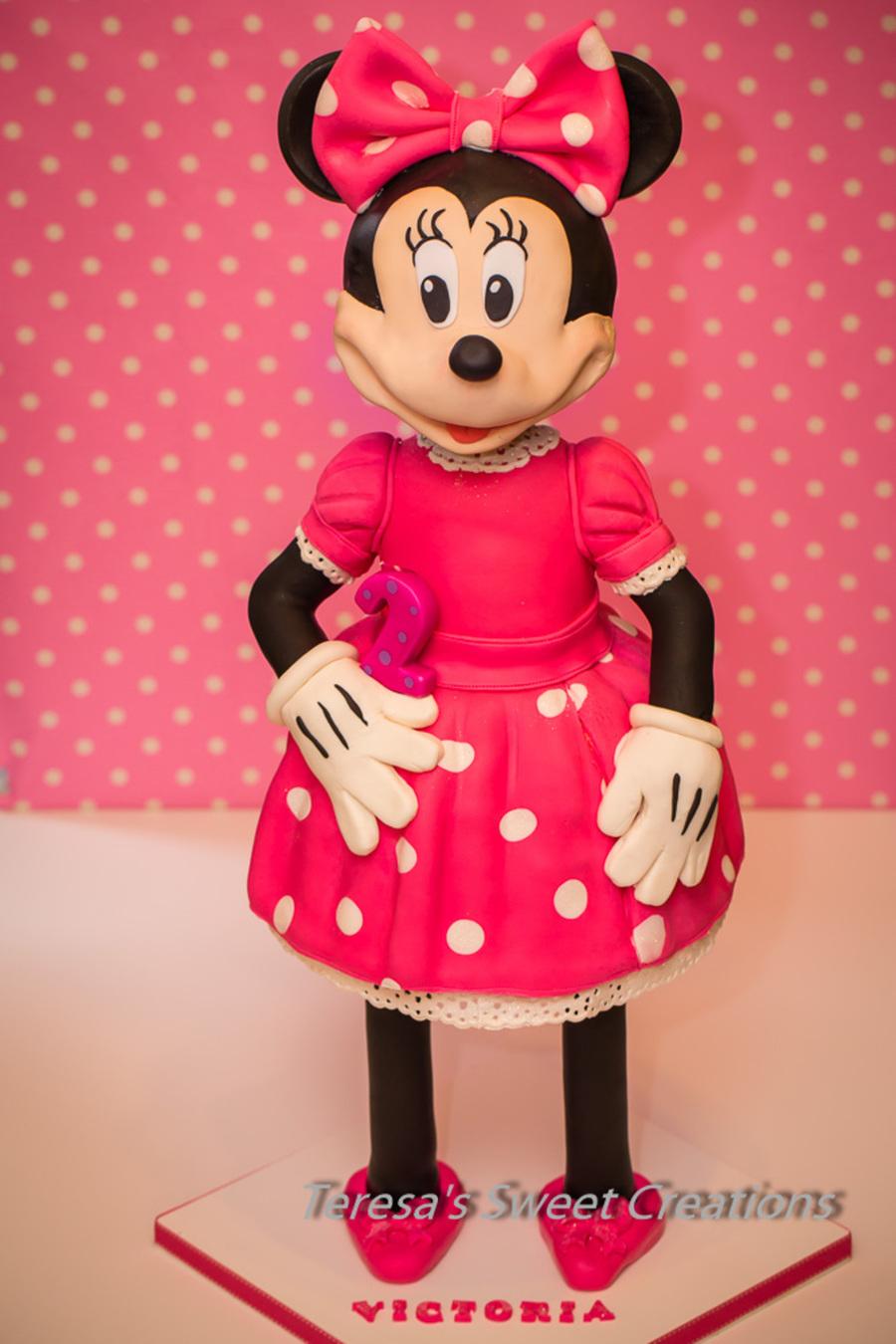 Minnie Mouse 3d Cake Cakecentral Com