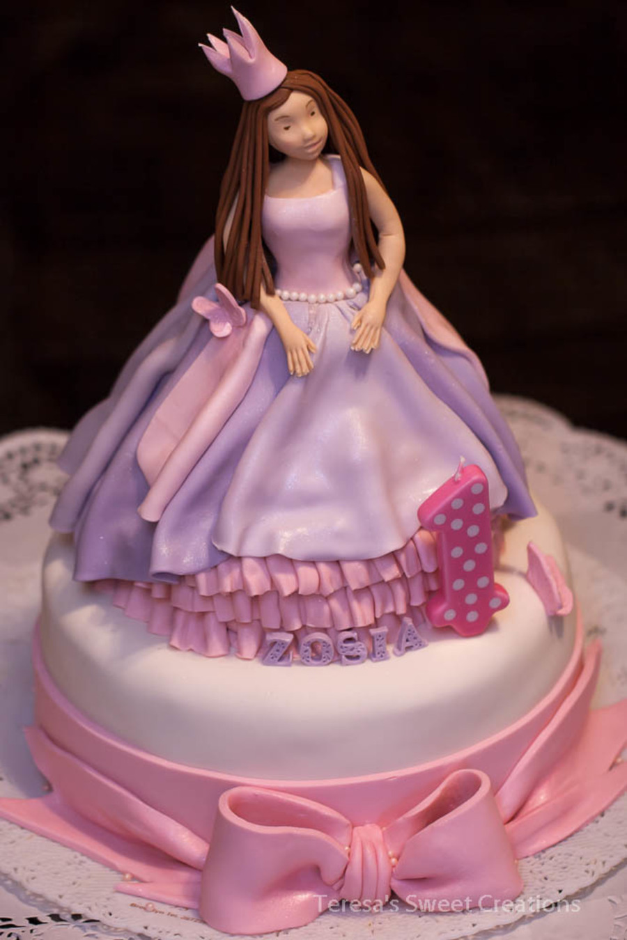 Princess Doll Birthday Cake Cakecentral