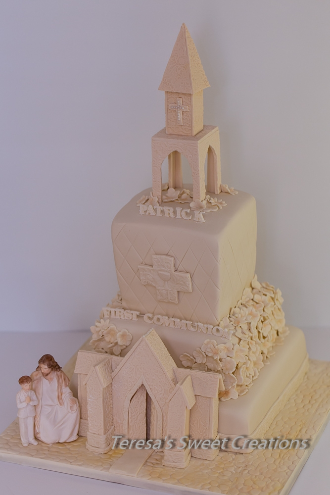 First Communion Cake Church Cakecentral Com