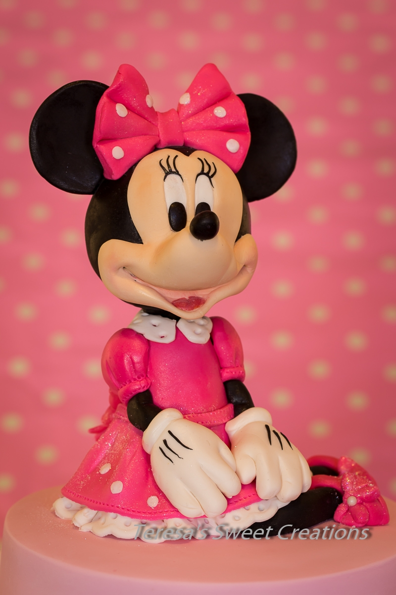Minnie The Mouse Birthday Cakes