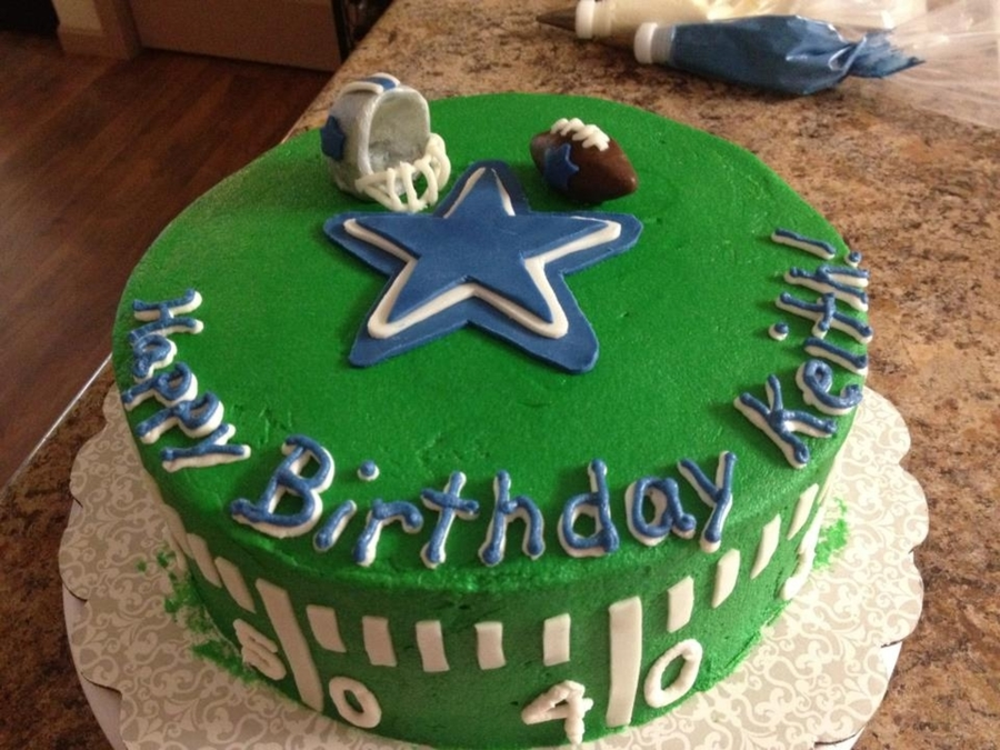 Dallas Cowboys Cake on Cake Central