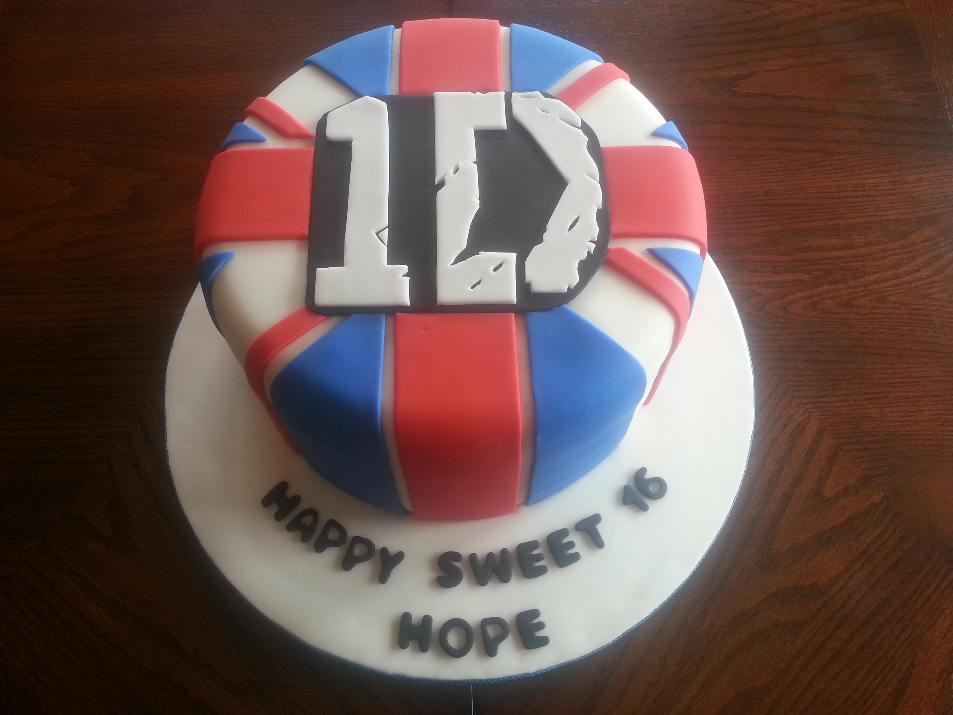 Typical British Birthday Cakes
