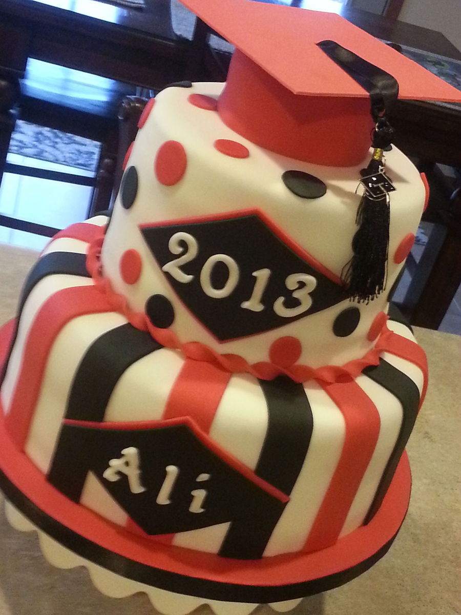 Graduation Cake 2013 - CakeCentral.com