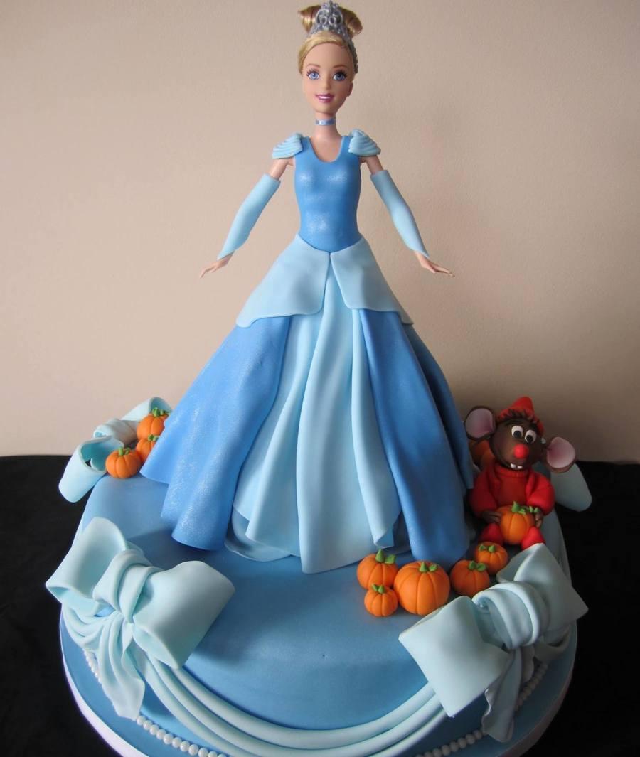 Cinderella Doll Cake - CakeCentral.com