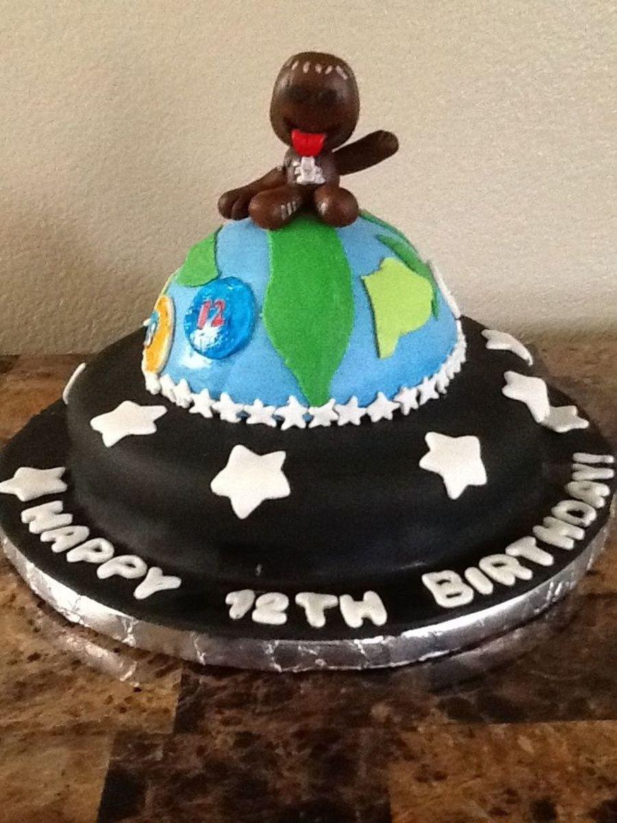 Surprising Little Big Planet Cake All Cake Fondant And Gum Paste Motivation Birthday Cards Printable Riciscafe Filternl