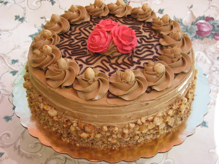Mocha Cake Cakecentral Com
