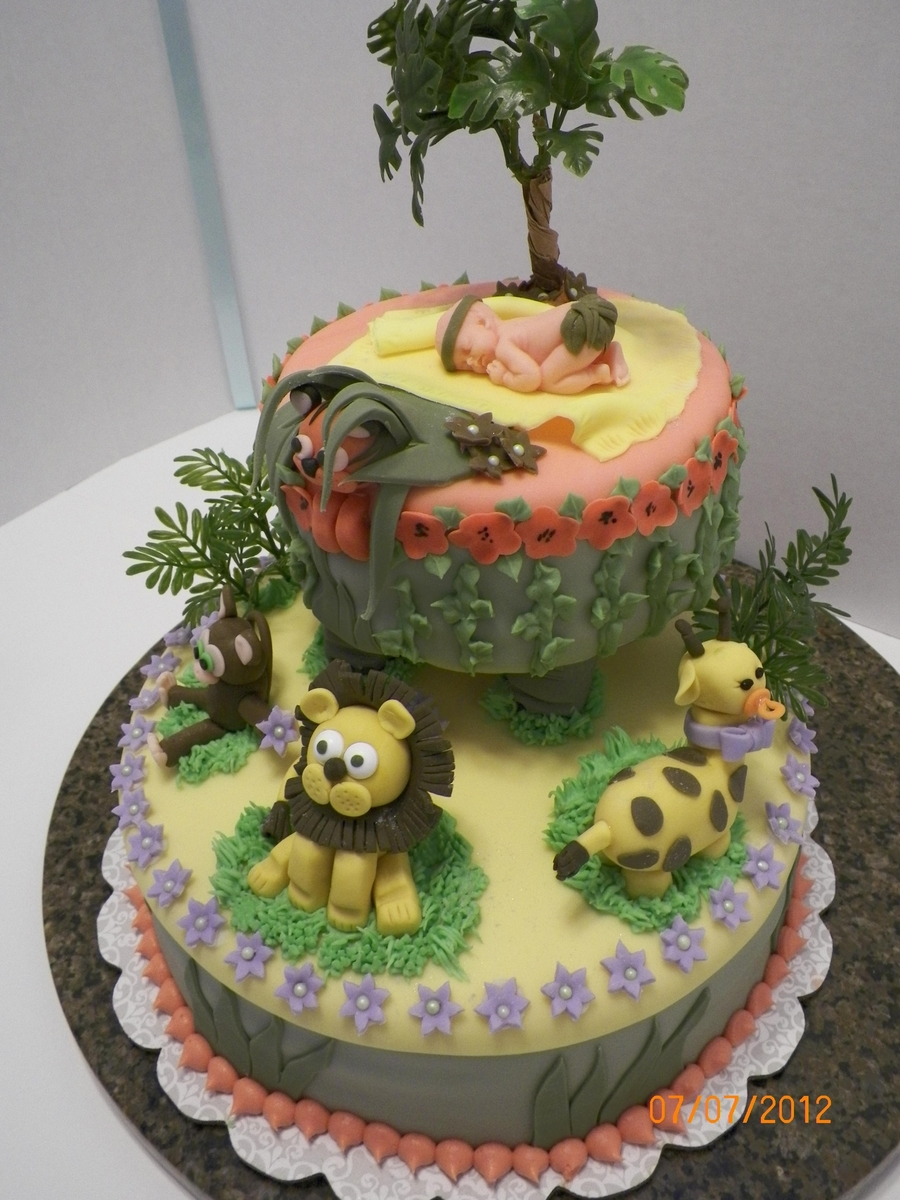 Jungle Baby on Cake Central