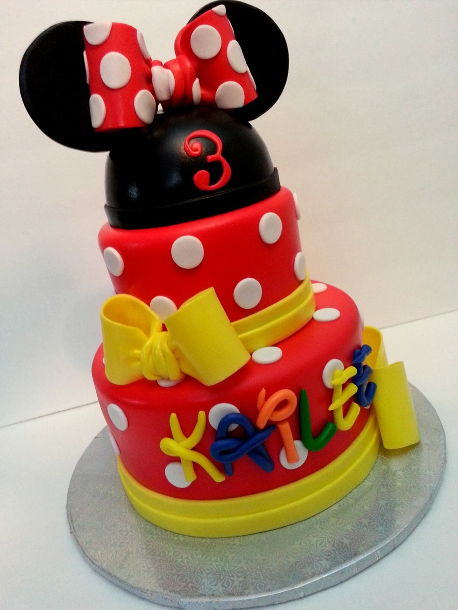 Minnie Mouse ! on Cake Central