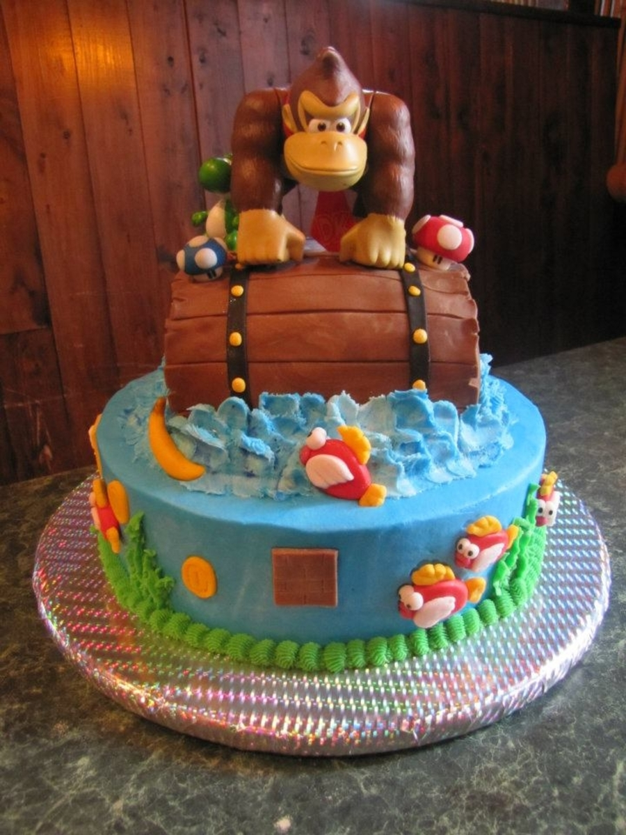 Donkey Kong And Super Mario Cakecentral Com
