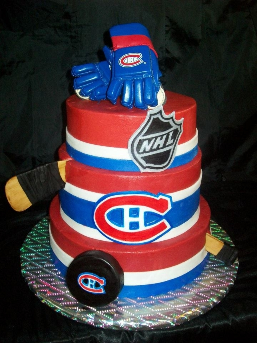 Montreal Canadiens Cakecentral Com