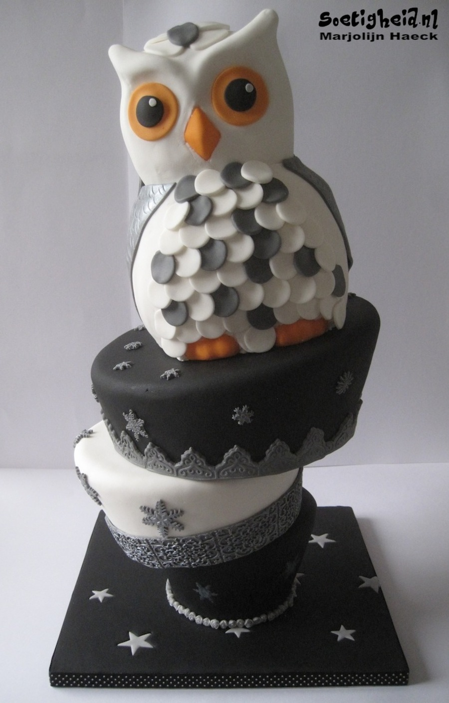 Magical Owl on Cake Central