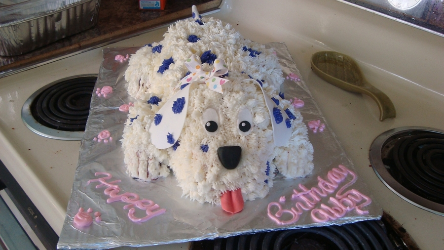 Dog Birthday Party Dog Cake