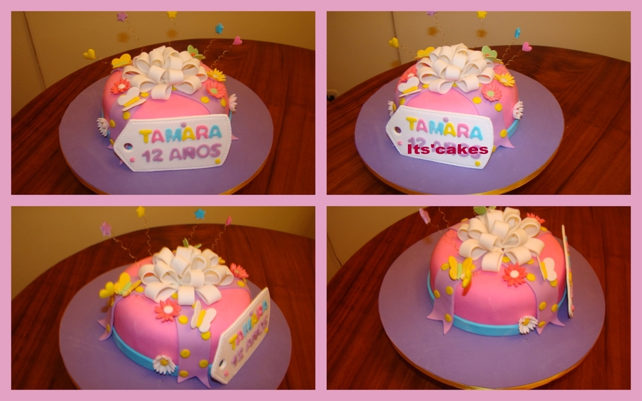 Little Girl's Cake on Cake Central