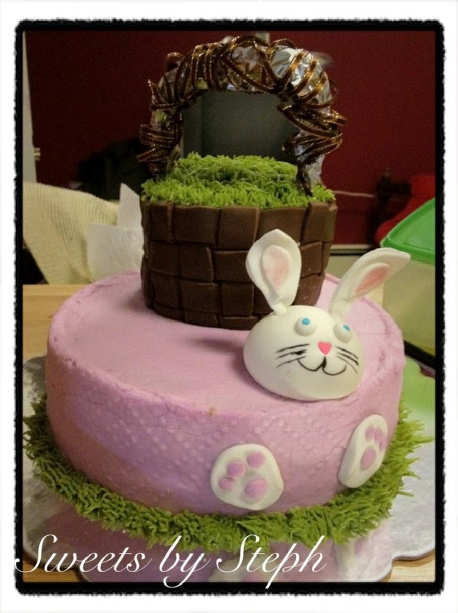 Trapped Bunny ! on Cake Central