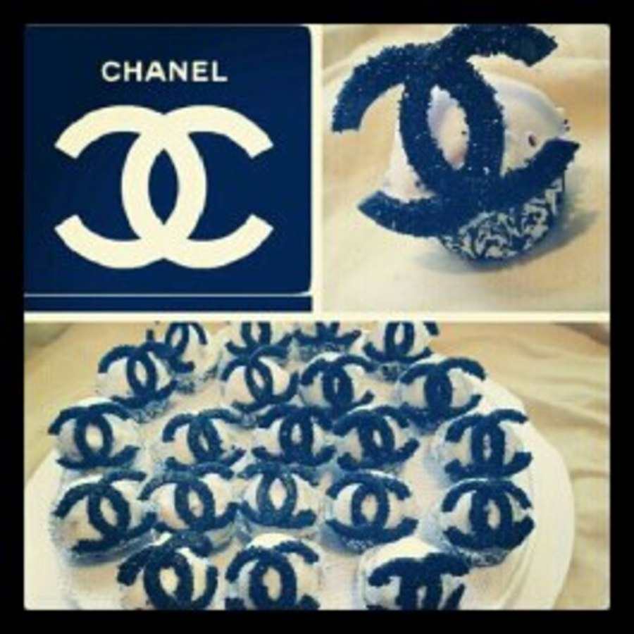 Chanel Pops on Cake Central
