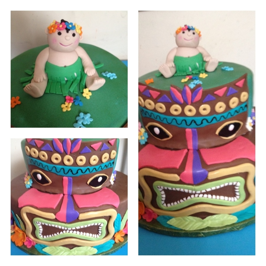 Hawaiian / Tiki Baby Shower on Cake Central
