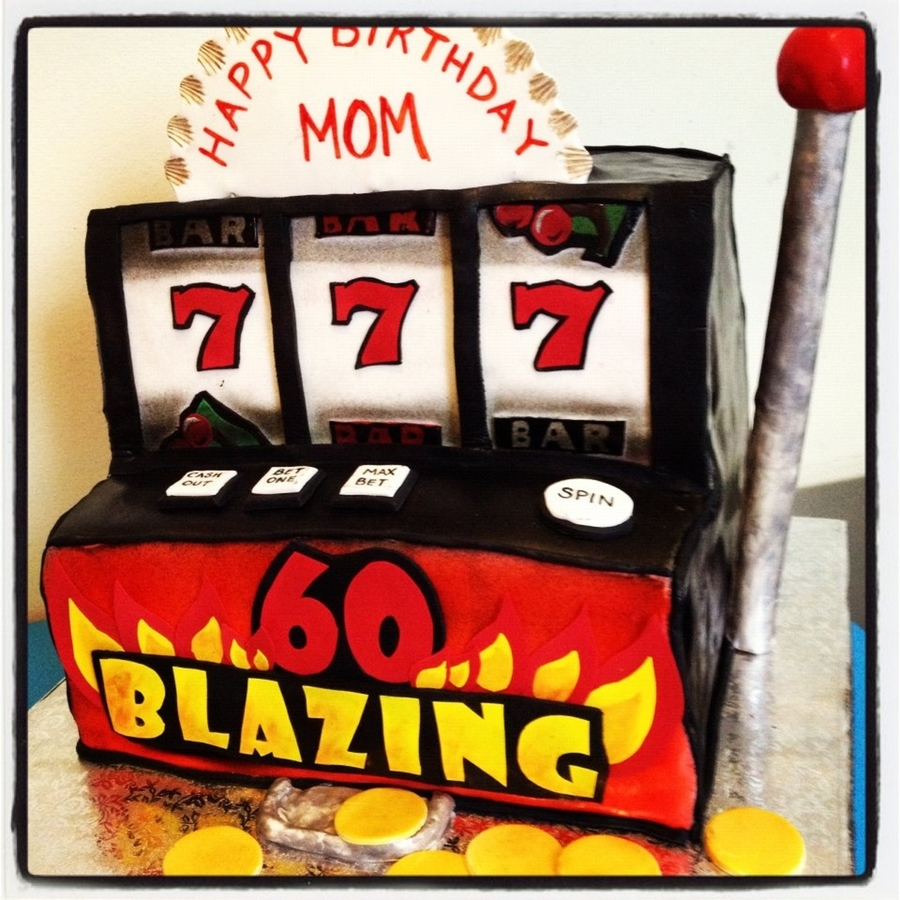 Slot Machine 60Th Birthday Cake on Cake Central