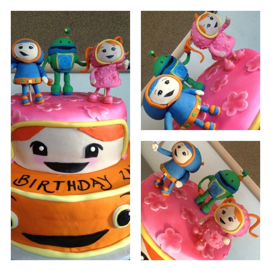 Team Umizoomi Birthday Cake on Cake Central