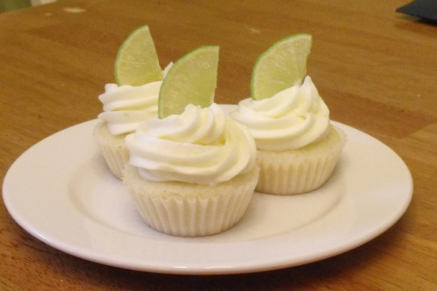 Margarita Cupcakes For My Moms 50Th Birthday With Real Tequilla D on Cake Central