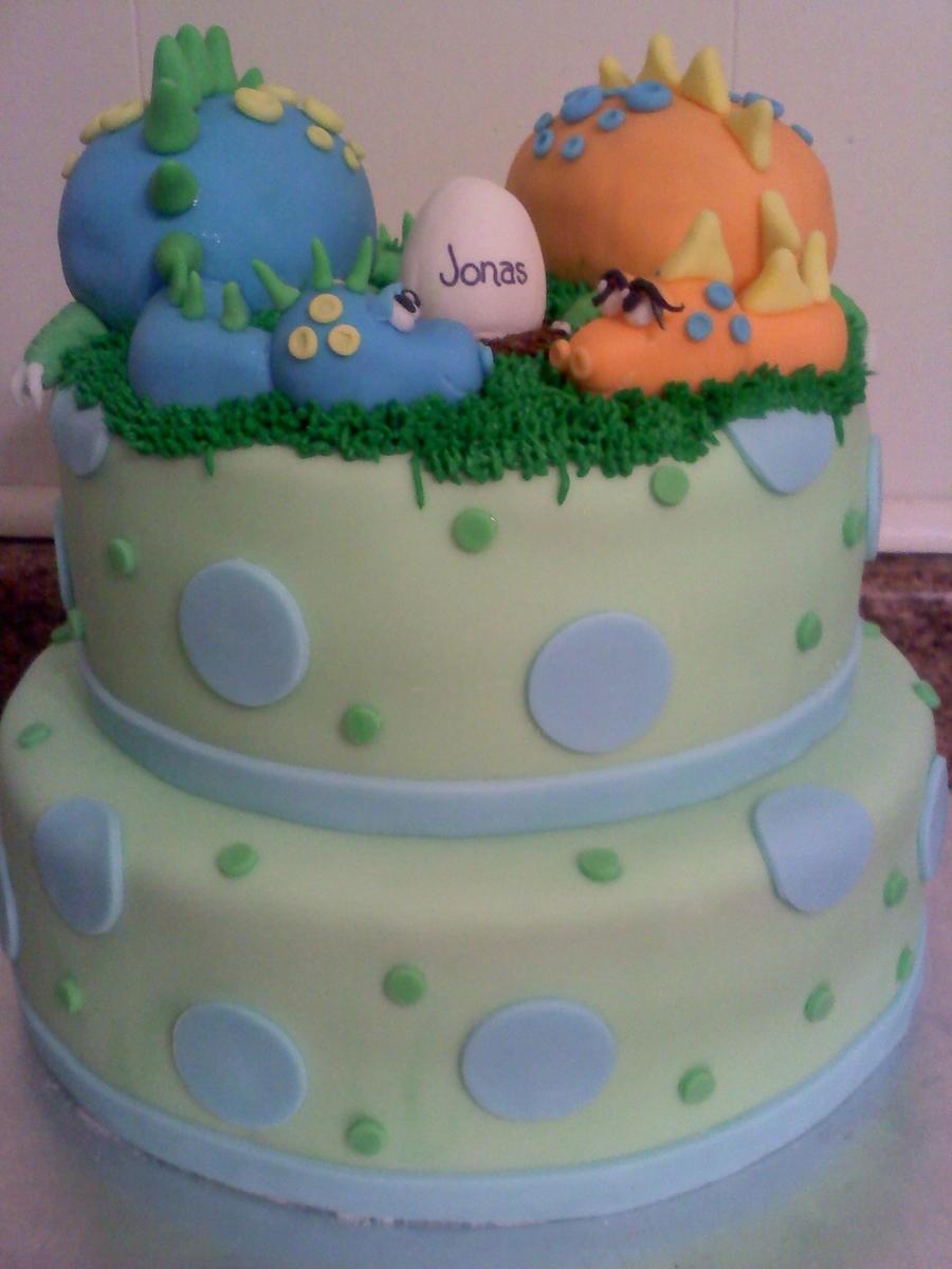 Dino Baby Shower Cake Cakecentral Com