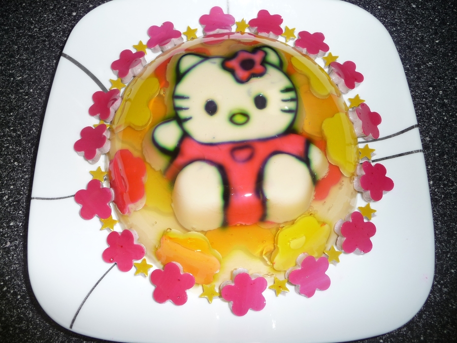 Hello Kitty Gelatin on Cake Central