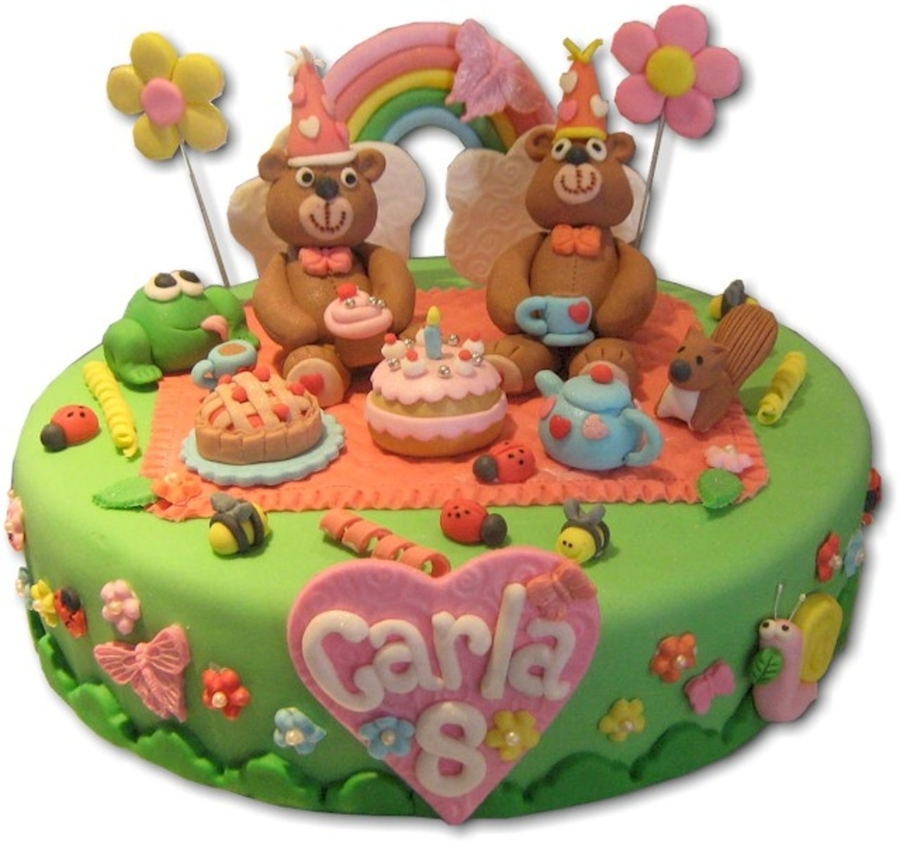 Teddy Bear's Picnic  on Cake Central