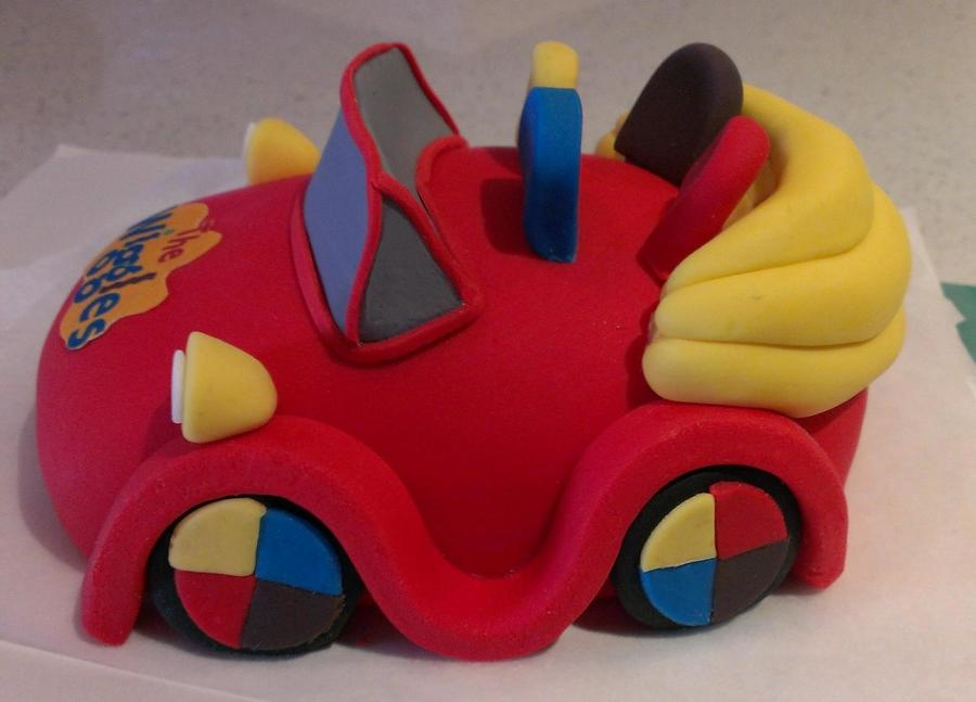 Wiggles Cake Topper Big Red Car