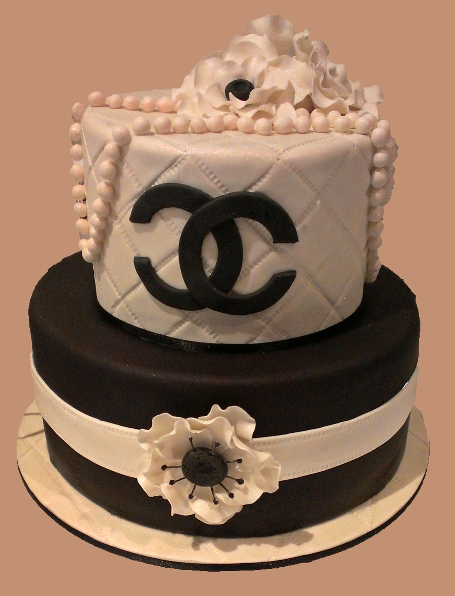 Coco Chanel 18Th Birthday - CakeCentral.com