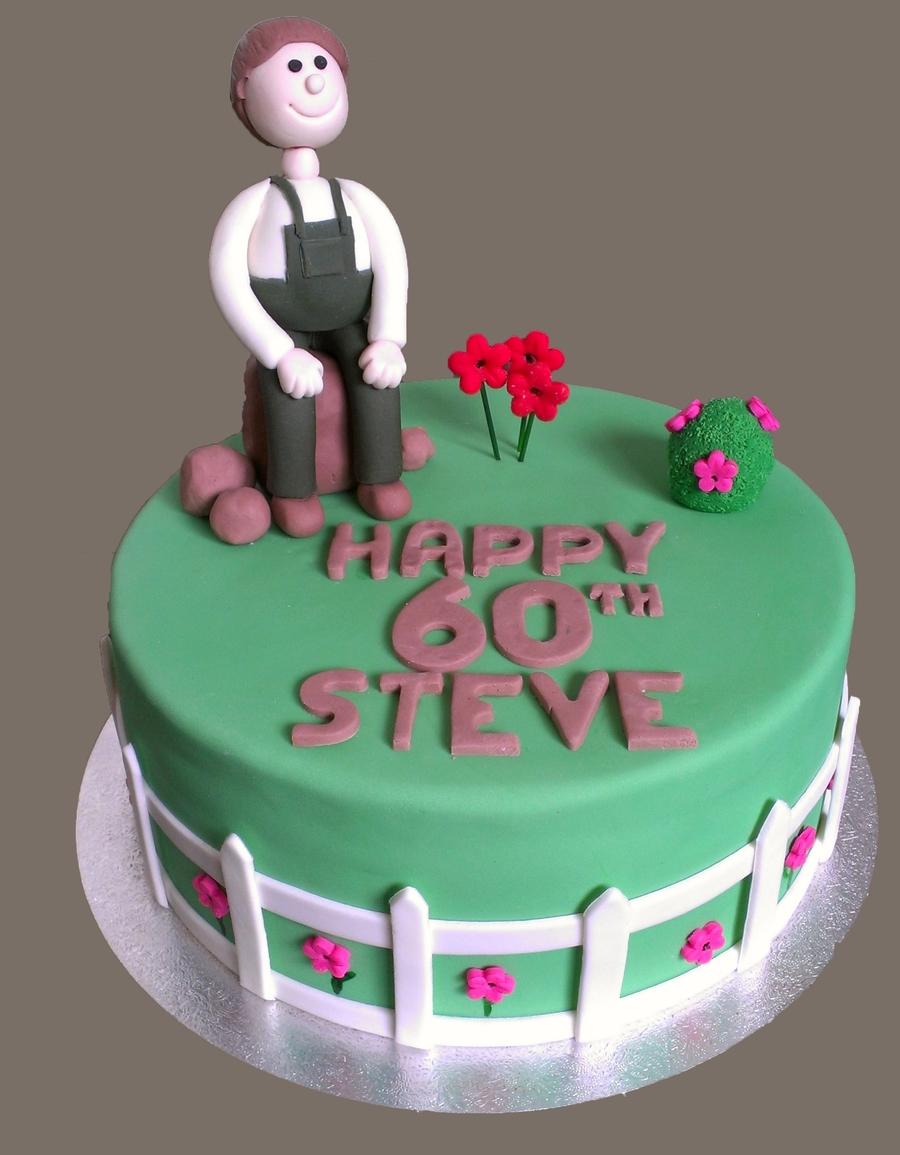 Miraculous 60Th Birthday Garden Cake Cakecentral Com Funny Birthday Cards Online Alyptdamsfinfo