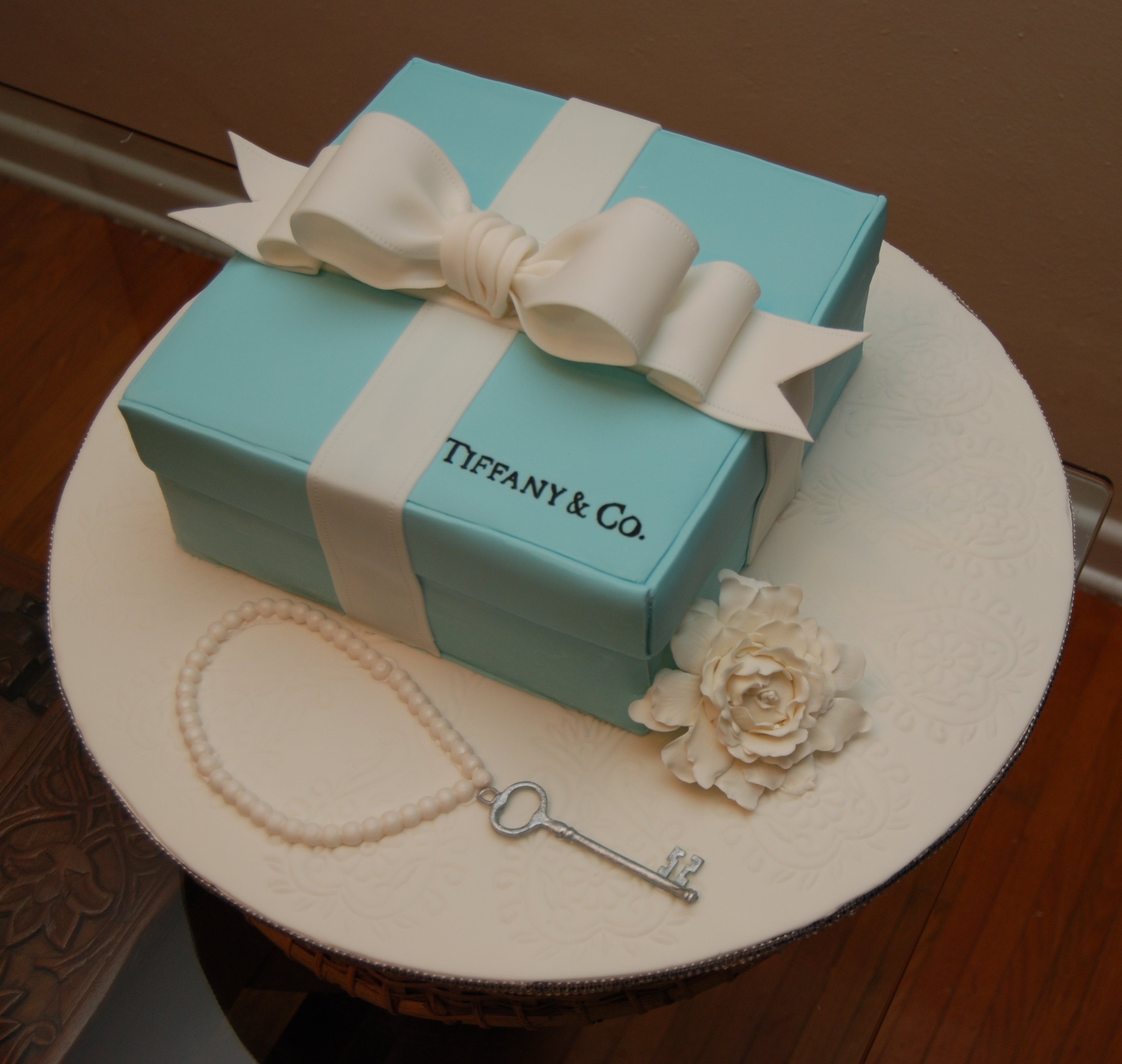 Cake Topper With Tiffany Name