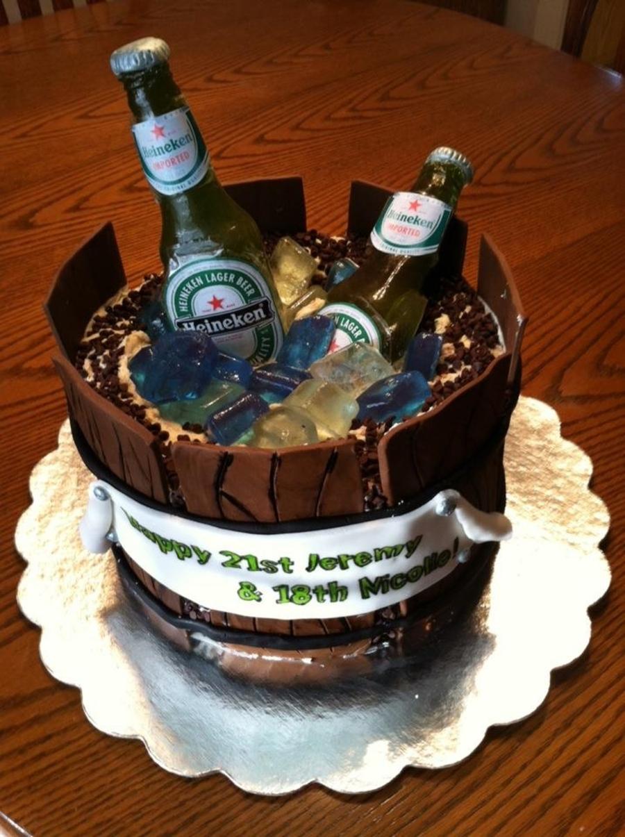 21St Birthday Cake - CakeCentral.com