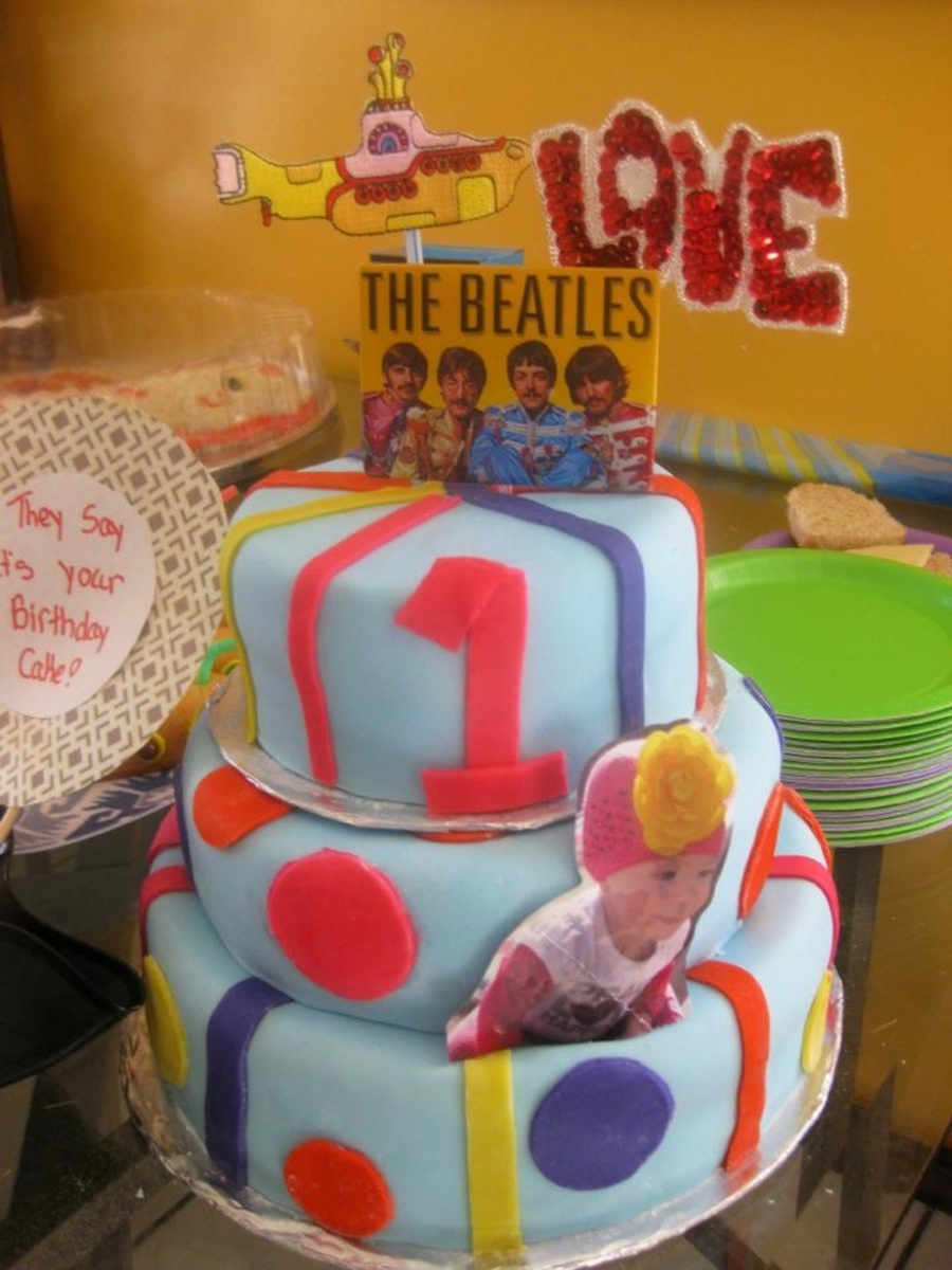 Beatle's Themed Cake on Cake Central