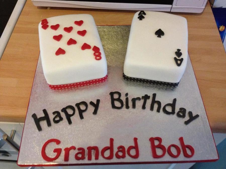 Playing Card Birthday Cake Cakecentral