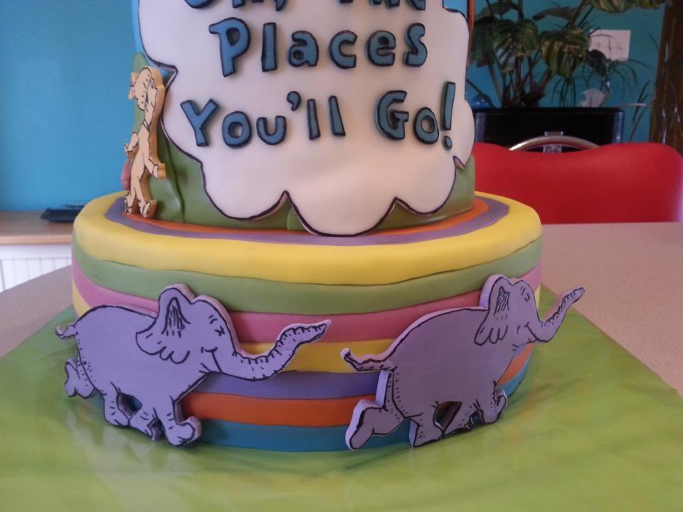 Preschool Graduation Cake - CakeCentral.com