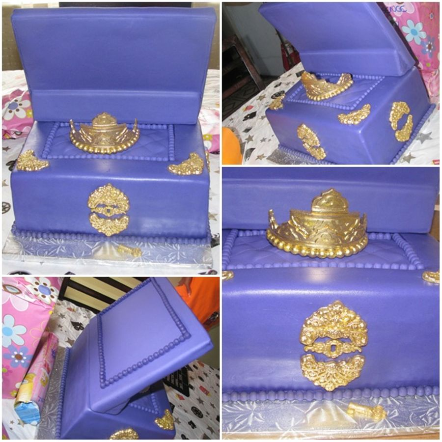 Jewelry Box  on Cake Central