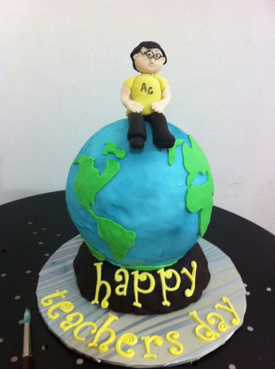 Teacher's Day Cake  on Cake Central